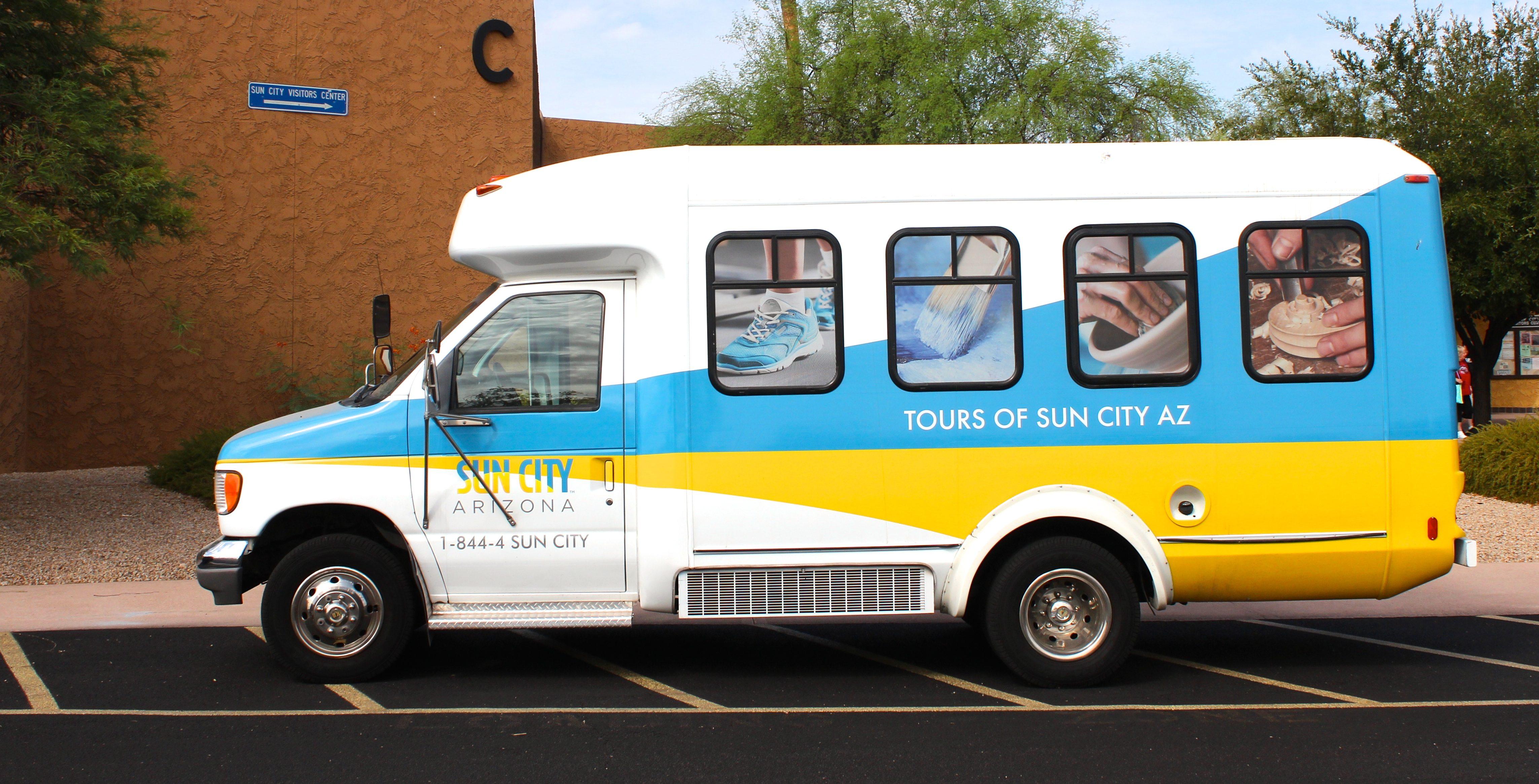 Sun City AZ Bus Tours