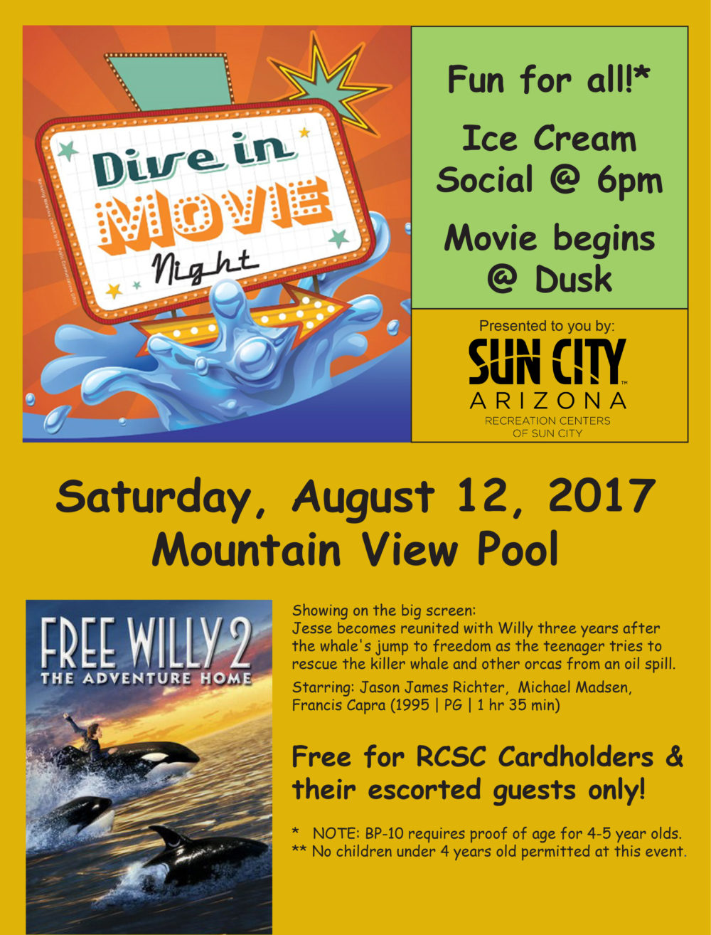 Dive-In Movie Poster
